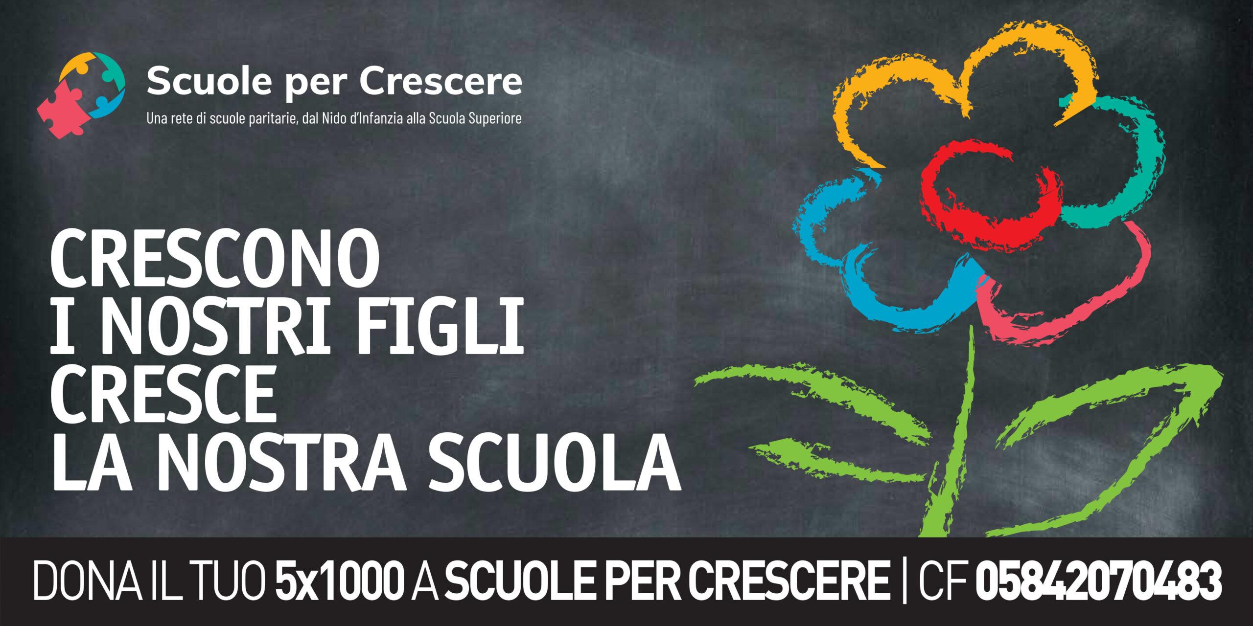 Scuole Per Crescere DONACI IL TUO 5X1000